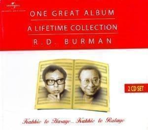 One Great Album - A Lifetime Cheap Super-cheap Collection Cd Set D. 2 R. Burman