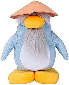 Disney Club Penguin 6.5 Inch Series 4 Plush Figure Sensei (Includes Coin with Code!)
