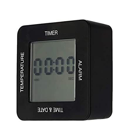 Modern Digital Multifunctional Alarm Clock Large-Screen with ...