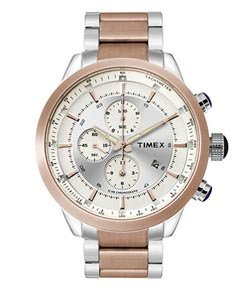 Timex-Mens-Chronograph-Dial-Watch-Silver