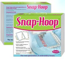 Pfaff Snap (5x7 Snap-Hoop For Brother Innov-is 1000 1200 1250D Embroidery Machine)