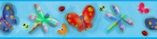 - RoomMates Jelly Bugs Peel and Stick Border