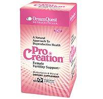 Dream Quest ProCreation Female Fertility Support -- 60 Vegetarian Capsules