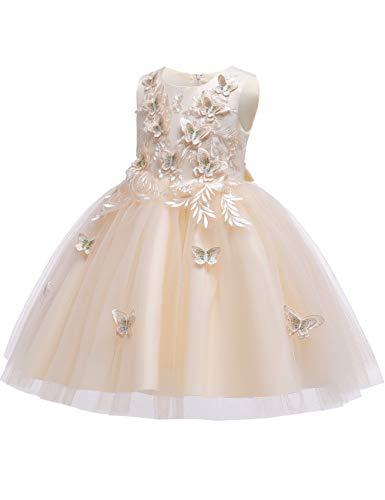 KYMIDY Butterfly Elegant Dresses 4 10yrs