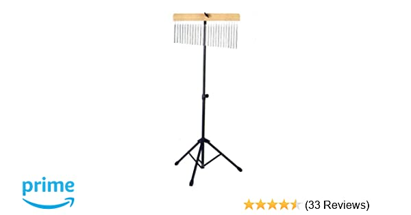 Amazon com: WB-01 Pro Chrome Percussion 25 Bar Chimes with