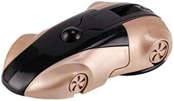 磁気クリエイティブスポーツカーモデル携帯電話車のブラケット、インストルメントパネルサクションカップブラケット折りたたみ式回転式 (色 : ゴールド)
