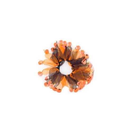 Charming Party Collar - Holiday Party Collar - M Halloween Pumpkin (CH77078M) - by Charming