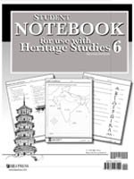 Student Notebook for use with Heritage Studies 6 for Christian Schools (Heritage Studies Notebook)