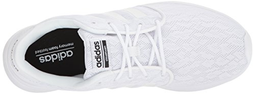 Adidas Vrouwen Cf Qt Racer W Sneaker Wit, Wit, De Kern Zwart
