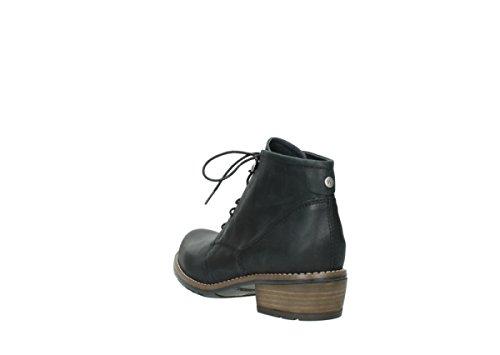 wolky Roll Slipper 6227Roll Slipper Negro - 300 schwarz Leder