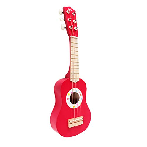 UMFun 21Inch Acoustic Toy Guitar for Boys Girls Beginners Childs Children Red]()