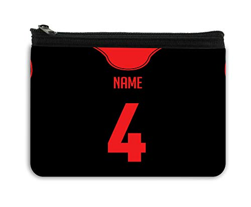 - BRGiftshop Personalized Custom Name Basketball Jersey Neoprene Coin Purse