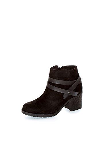 Calzados Gasol - Botín Campero, Negro, 41, Mujer: Amazon.es: Zapatos y complementos
