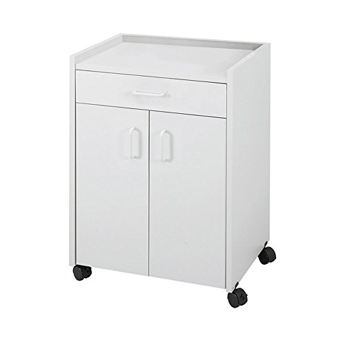 Mobile Refreshment Center With Drawer - Gray electronic consumers