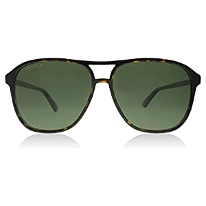 Gucci 0016S 007 Havana 0016S Round Sunglasses Polarised Lens Category 3 Size 58
