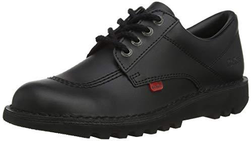 Derby Cordones Kick black Para Kickers Negro Lo black Zapatos De Mujer Core pYwfOCq