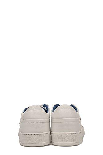 Alberto Guardiani Herren SU76428AAA10 Weiss Leder Sneakers