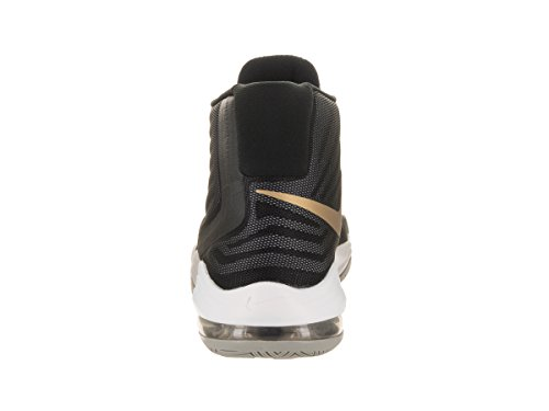 Nike Men's Air Max Audacity 2016 Basketball Shoe Black/Metallicgold/Dark Grey for sale under $60 TwqTc
