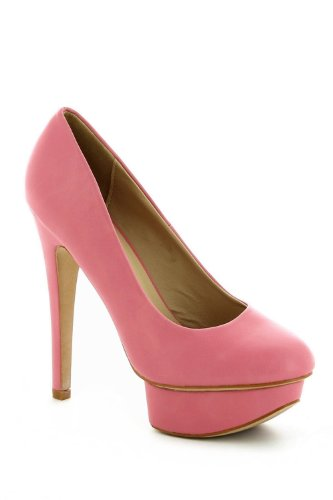 Go Tendance - Zapatos de vestir para mujer Rosa - rosa