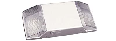 Thermoplastic Emergency Light Low Profile 2 Fixed Optics Lighting Heads