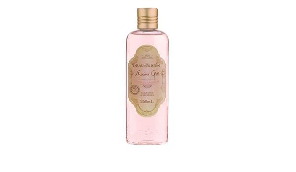 Amazon.com : Beau Jardin Rose & Geranium Shower Gel 250ml : Beauty