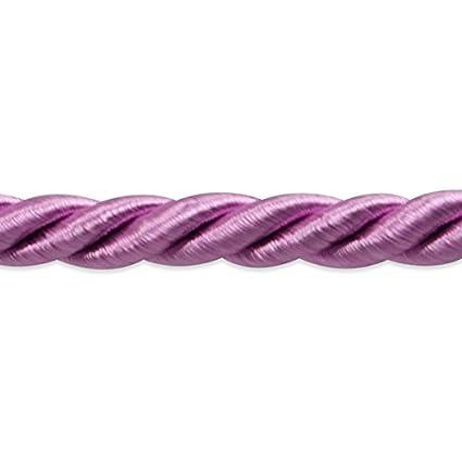 Light Gray Expo International Charlotte Twisted Cord Trim 20 yd//3//16