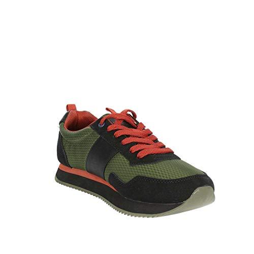 NOBIL4215S8 Petite HN2 Polo Foncé U Sneakers Vert Homme s Assn qfqt1