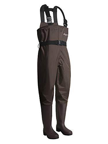 OXYVAN Waders Waterproof Lightweight Fishing Waders with Boots Duck Hunting Chest Waders for Men Women