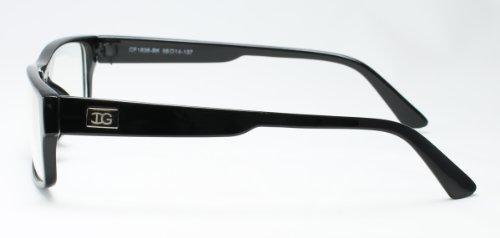 "Newbee Fashion - ""Kayden"" Retro Unisex Moda de plástico Gafas con lentes transparentes"