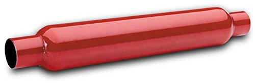 Flowtech 50250FLT Red Hots Glass Pack Muffler - Flowtech Exhaust