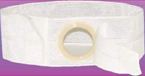 Nu-Hope Laboratories Peristomal Hernia Belt, (3-3/8 Inch) - White