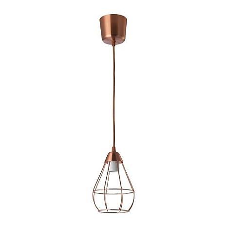 Ikea slättbo - Lámpara de techo en color cobre; A + +; (14,5 ...
