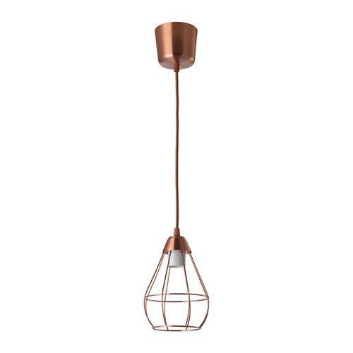 Ikea slättbo – Lámpara de techo en color cobre; A + +; (14,5 cm ...