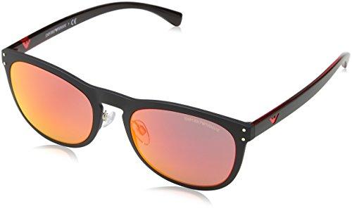 EA4098 Armani Black Sonnenbrille Emporio Matte 50426q nqH8pggzwx