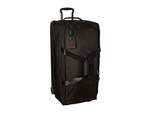 (TUMI - Alpha 3 Large Split 2 Wheeled Duffel - Rolling Luggage for Men and Women - Black)