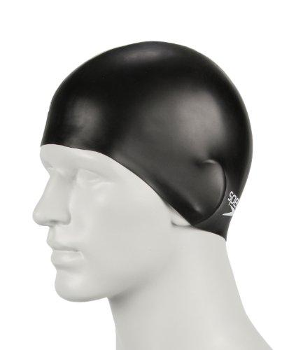 Speedo Plain Moulded Silicone Swim Cap for Juniors