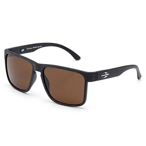 Mormaii Sacramento Sunglasses, Black with Flash Green - Sunglasses Mormaii