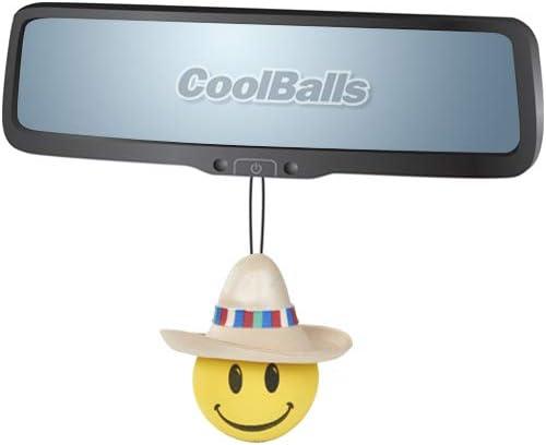 Coolballs Cool Happy Amigo w//Sombrero Car Antenna Topper//Antenna Ball//Auto Mirror Dangler//Desktop Spring Stand Bobble Buddy Fits Thick Fat Style Antenna