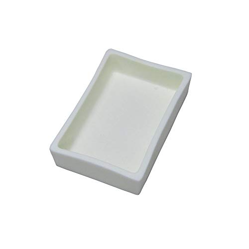 1PC 100X77X27mm Alumina Ceramic Crucible Boat for Muffle or Tube Furnace Sample Holder 1600C (Ceramic Furnace Tube)