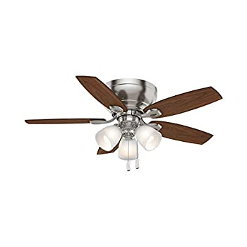 Image of Casablanca Fan Company 53187 Durant Ceiling Fan, 44-inch, Nickel Home Improvements