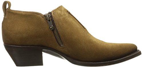 Frye Brown Women's Boot Suede Shootie Cashew Sacha Moto aRwaHqz