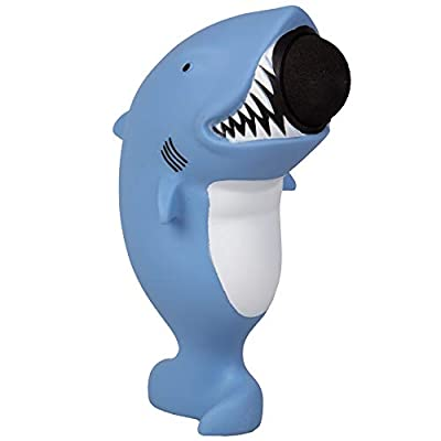 Hog Wild Shark Popper Toy - Shoot Foam Balls Up to 20 Feet - 6 Balls Included - Age 4+: Toys & Games