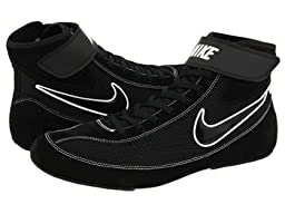 Mens Nike Speedsweep VII Wrestling Shoe Black/White/Black Size 6.5