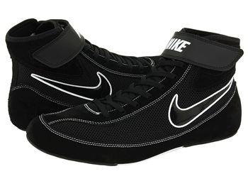 Mens Nike Speedsweep VII Wrestling Shoe Black/White/Black Size 12 (Nike Sticky Shoes)