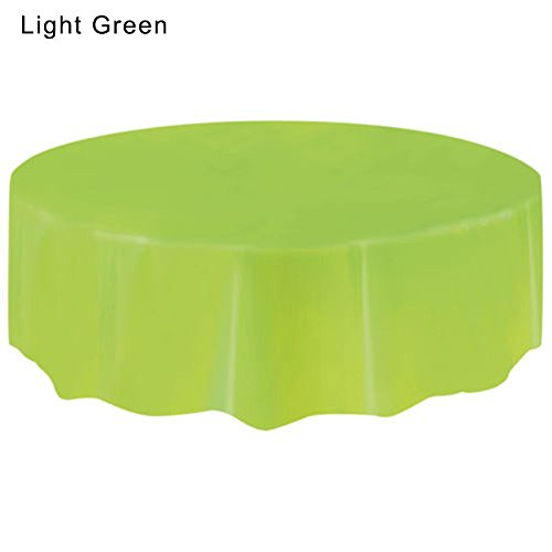 Eva fundas desechables mesa redonda color puro plástico Plain ...