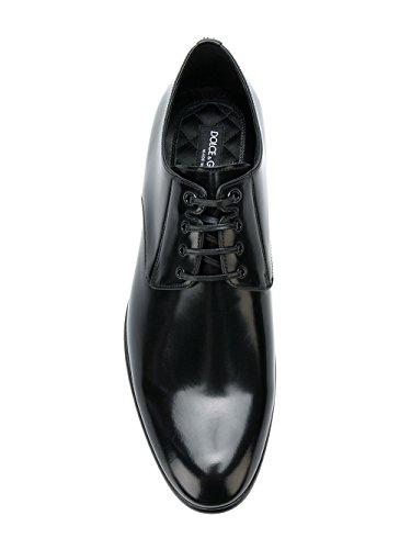 Dolce E Gabbana Uomo A10306ac46080999 Stringate In Pelle Nera