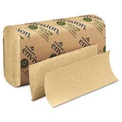 ** Multifold Paper Towel, 9-1/5 x 9-2/5, Brown, 250/Pack, 16/Carton **