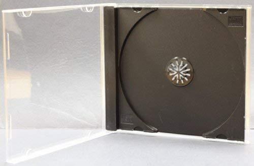 Yens 50 STANDARD Black CD Jewel Case (Assembled)