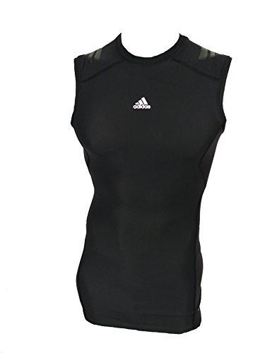 Débardeur Techfit Taille Noir shirt Pour Powerweb Adidas T De Xl Course pAqBnIw