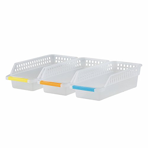 plastic storage bins with handles - 4